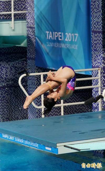 世大運》「我來自高雄!」台灣跳水女孩世大運初體驗