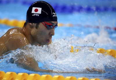 世大運》里約奧運游泳金牌萩野公介 預賽爆冷出局