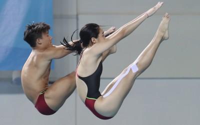世大運》跳水出現尷尬畫面 台灣選手驚:我完蛋了…
