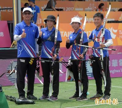 世大運》南韓加射3箭都10分 台灣女團雖敗猶榮摘銀牌