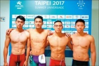 世大運》短跑之後的下一個奇蹟? 台灣泳將史上第二度殺進決賽