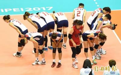 世大運》台灣女排先盛後衰 不敵日本無緣金牌戰