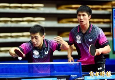 世大運》桌球男雙力退日本 李佳陞:贏在10年默契和球迷加持