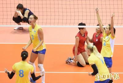 世大運》不敵烏克蘭長人陣  台灣女排屈居第4