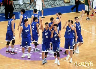 世大運》「台啤連線」接力爆發 台灣男籃創隊史最佳成績