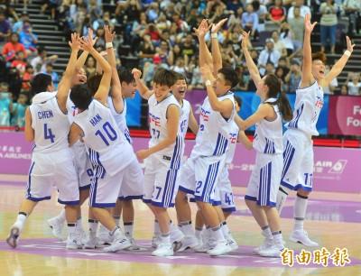 世大運》女籃賽後尬舞!網友讚:運動的熱情(影音)