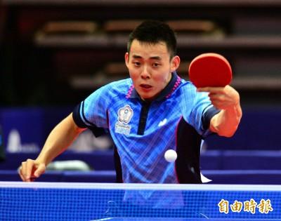 世大運》陳建安桌球男單奪銀牌 締造個人生涯最佳成績