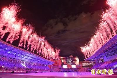 世大運閉幕式  暖場表演秀出台灣文化