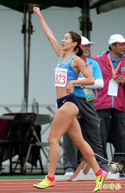 全運會》「長腿美少女」羅佩琳400跨欄生涯最佳 締造3連霸