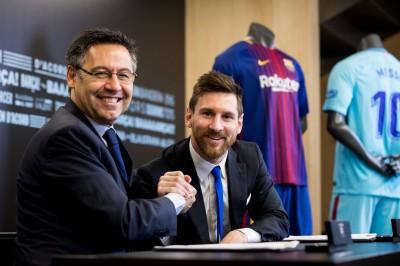 足球》與球隊續約到2021  梅西想在巴塞隆納退休(影音)