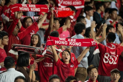 足球》球迷狂噓中國國歌 香港足總挨罰9萬元(影音)