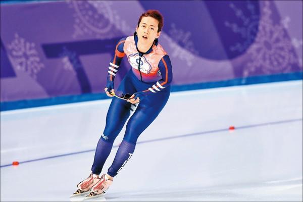 冬奧》500公尺競速滑冰 黃郁婷首度滑進39秒內