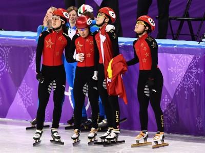 冬奧》中國隊短道速滑女三千公尺從銀牌變犯規 中網友火大