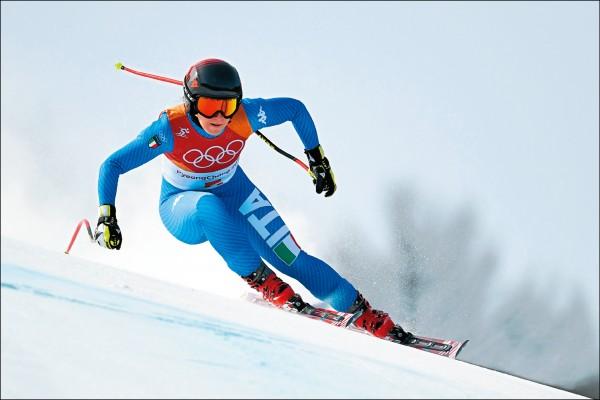 冬奧》高山滑雪 女子滑降金銅牌分寫歷史