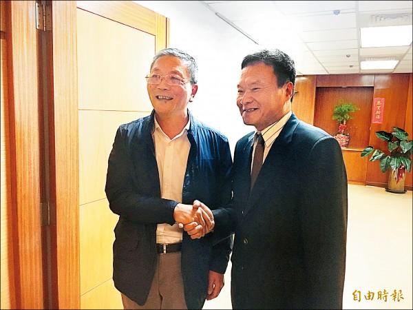 國訓新執行長 李文彬宣示服務精神