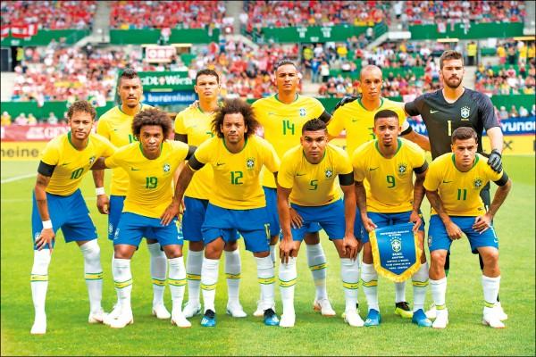 世界盃金錢觀》森巴軍團「最貴」平均年薪2.3億