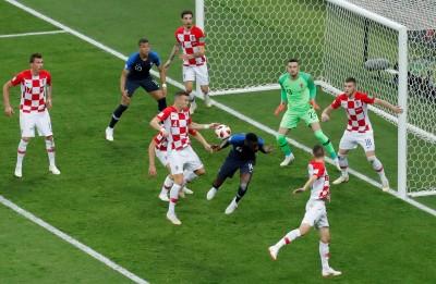 世足賽》禁區手球讓法國獲關鍵12碼 克國總教練不滿
