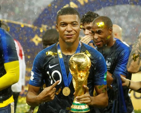 世足賽》法國隊前鋒姆巴佩 捐出獎金達2500萬
