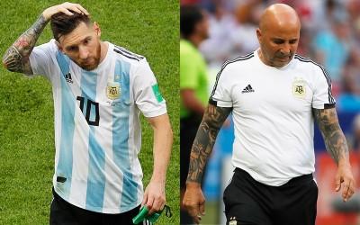 足球》阿根廷遭爆世足賽內鬨 梅西全隊面前飆罵主帥
