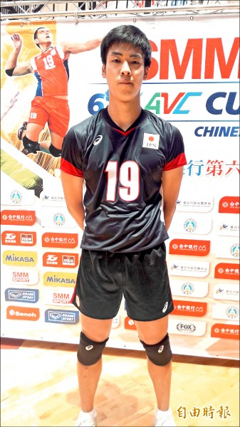 亞洲盃男排賽》「全開男孩」宮浦健人 19歲攻21分