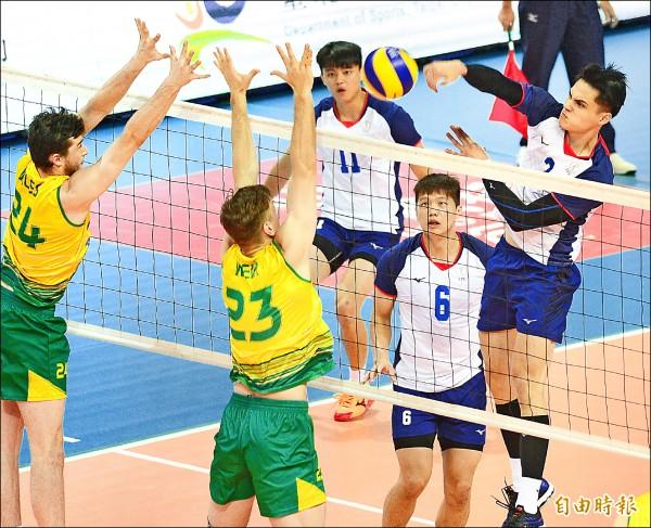 亞洲盃男排賽 今戰哈薩克 搶4強最後門票
