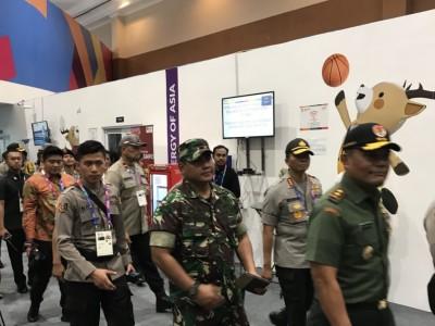 亞運》今晚開幕軍警總動員 雅加達市區維安等級提升