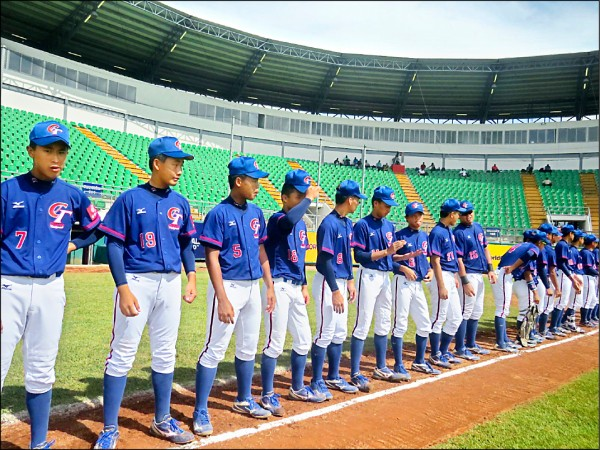 U15世界盃棒球賽 台日今爭季軍