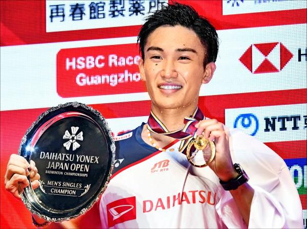 日本羽球公開賽》桃田賢斗 自家人封王寫歷史