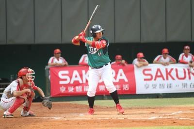棒球》張泰山3安猛打賞2打點 台壽保明打季軍賽成生涯最終戰