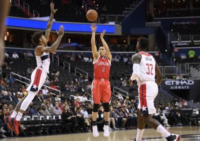 NBA》熱身賽再戰巫師 陳盈駿飆3顆三分彈表現亮眼