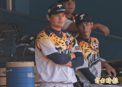 棒球》真的不投了 林英傑專心帶領台壽保投手