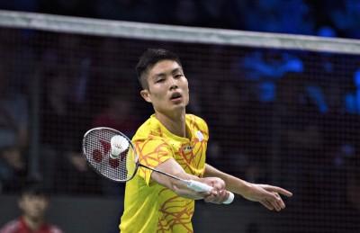 羽球》重挫中國一哥石宇奇 周天成直落二晉決賽