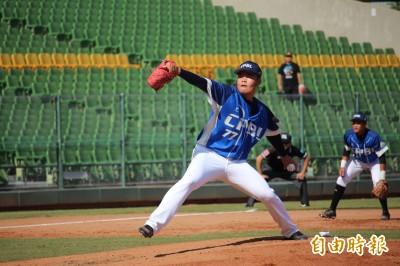 棒球》冬盟開幕戰  范國宸逆轉轟助中職聯隊贏球