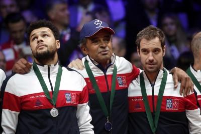 網球》法國痛失台維斯盃冠軍 隊長諾亞怒批主辦單位改制向錢看