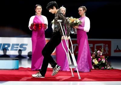 滑冰》右腳傷勢影響 日本「滑冰王子」退出花滑總決賽