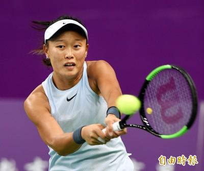 網球》張凱貞射日重返決賽 澳網亞太區外卡女單爭后