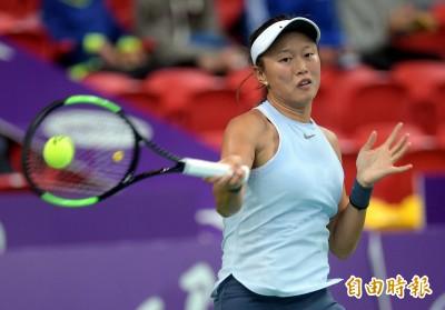 網球》澳網外卡戰傷退 張凱貞亞軍無緣大滿貫女單會內