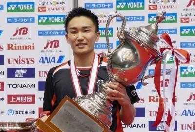 羽球》睽違3年日本錦標賽封王  桃田發豪語年終賽也要奪冠
