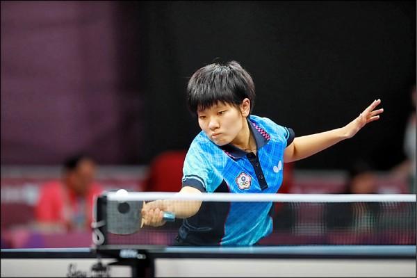 世青桌球賽》打破中國壟斷 蘇珮綾首闖女單4強