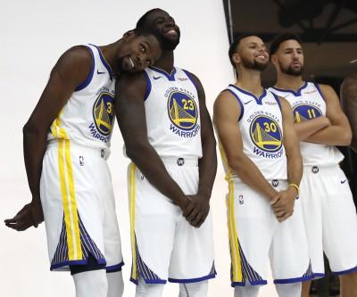 NBA》「追夢綠」回歸對灰狼 勇士四巨頭再度合體