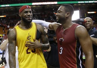 NBA》魏德完成生涯千場出賽 明與詹姆斯跳「最後之舞」