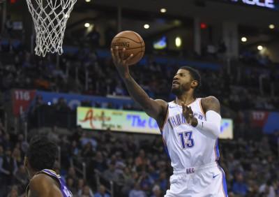 NBA》喬治神射31分 雷霆輕取爵士登頂西部龍頭