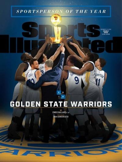 NBA》勇士隊獲年度最佳運動員 史上第4次團隊獲獎
