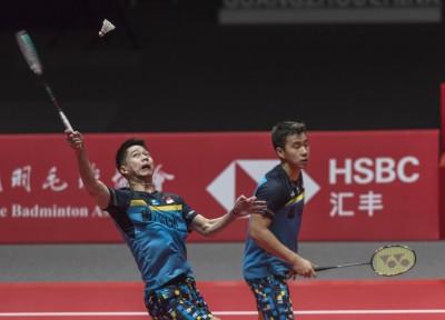 羽球年終賽》世界第一男雙險勝 中國第一混雙直落二過關