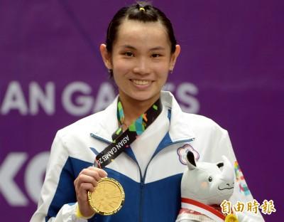 體育精英獎》小戴再添一后冠 生涯二度拿下最佳女運動員