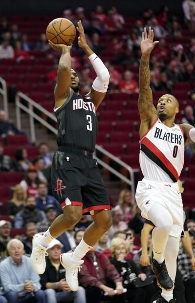 NBA》保羅大三元、哈登29分 火箭力克拓荒者中止三連敗