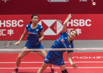 羽球年終賽》日本女雙輕鬆打 直落二輕取印尼組合
