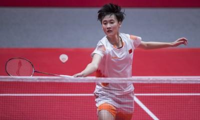 羽球年終賽》陳雨菲連吞2敗 直說場地滑、腳傷影響表現
