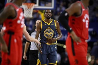 NBA》勇士慘敗暴龍 杜蘭特稱讚對手不再是年輕球隊