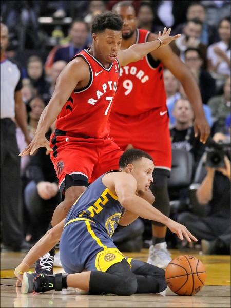 NBA》羅利壓柯瑞 暴龍橫掃勇士